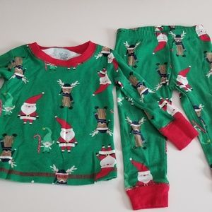 Baby Christmas pj set 12 month Just one you